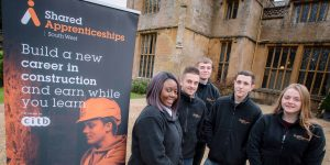 Dillington 7 1 300x150 - Staff and all apprentices from Shared Apprenticeships South West (SASW) took part in a team building festive away day at Dillington House, Somerset.