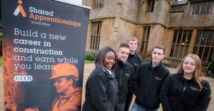 Dillington 7 300x156 - Staff and all apprentices from Shared Apprenticeships South West (SASW) took part in a team building festive away day at Dillington House, Somerset.