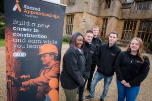 shared apprenticeships build a career 300x200 - Staff and all apprentices from Shared Apprenticeships South West (SASW) took part in a team building festive away day at Dillington House, Somerset.